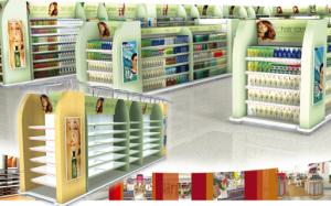 display shelving