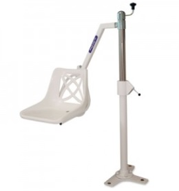 A Bath Hoist Lift for ease of helping patients in and out of the bath.