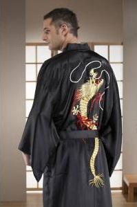 Mens dragon yukata kimono