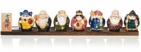 Japanese good luck gifts - 7 lucky gods