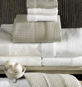 What are waffle towels?