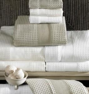 Waffle towels