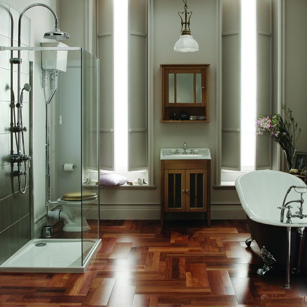 Old Meets New Creating A Classic Contemporary Bathroom