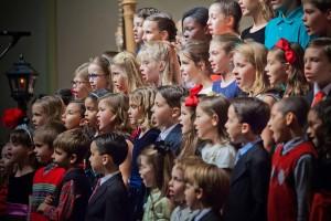 Singing children
